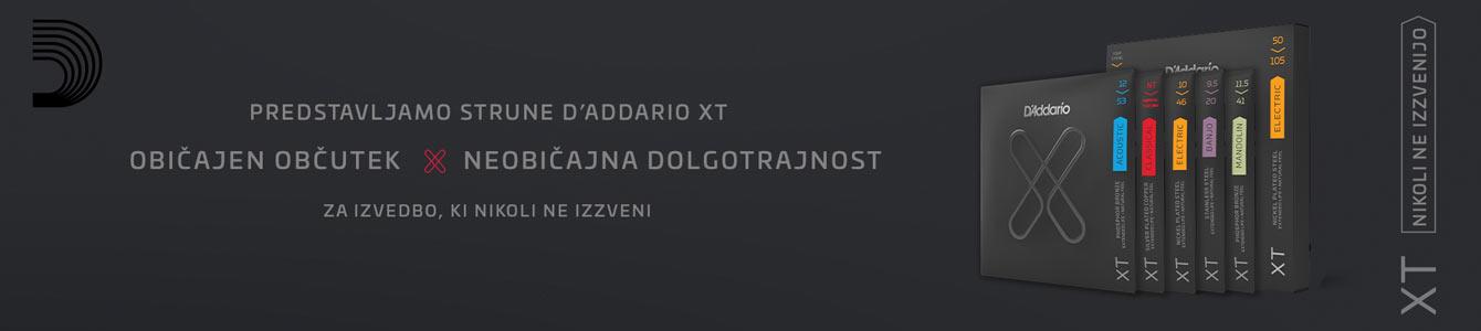 D'ADDARIO XT strune