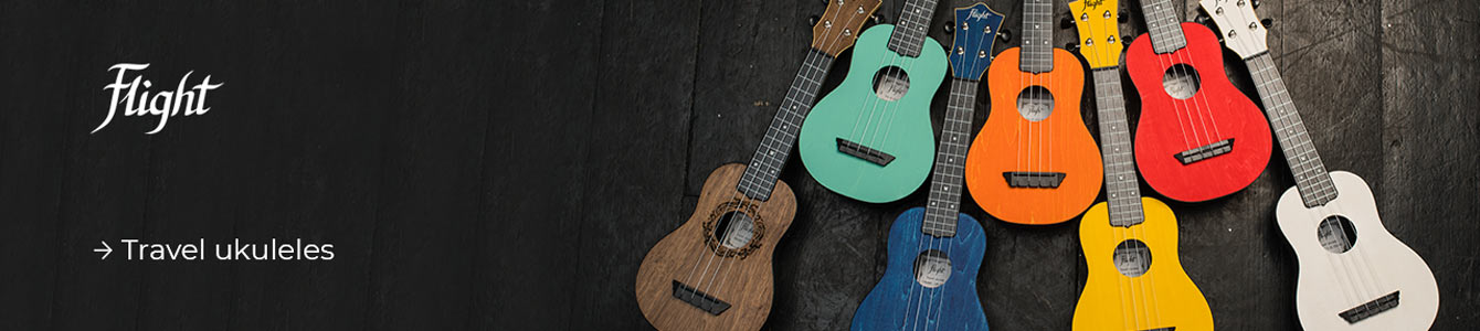 FLIGHT Travel ukulele