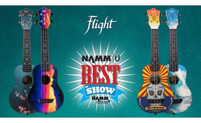 Flight Ukulele – Slovenska znamka s prestižno nagrado BEST IN SHOW!